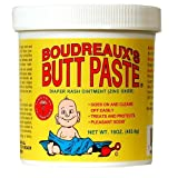 Boudreaux's Butt Paste, Diaper Rash Ointment, Jar 16 oz (453.6 g)