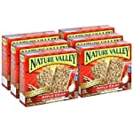 Nature Valley Apple Crisp Crunchy Granola Bars, 12 ct, 6 pk