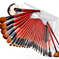 Fr�ulein3�8 25 Pro Sable Makeup Brush Set w/Silver Case