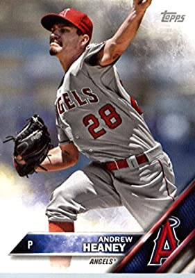 2016 Topps Team Edition #A-8 Andrew Heaney Los Angeles Angels Baseball Card