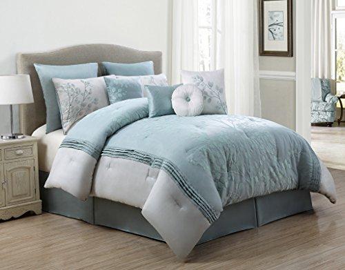 104 X 88 Cal King Comforter KESS InHouse Steve Dix Extractions Teal Black King