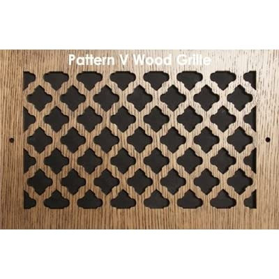 30 x 20 Oak Wood Air Grille/Air Return. Pattern