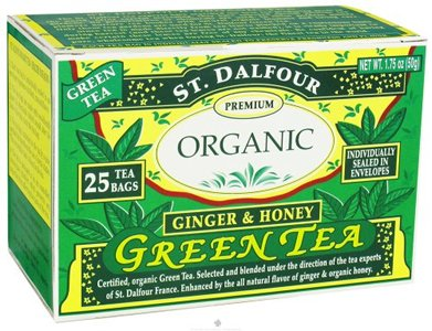 Green Tea,Ginger & Honey Pack Of 3