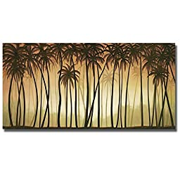 Palm Paradise by Deac Mong Premium Gallery-Wrapped Canvas Giclee Art (Ready-to-Hang)