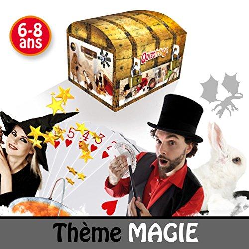 Kit anniversaire enfants 6/8 ans - chasse au trésor thème Magie