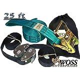 WOSS Gear, 2in Slackline - Made in USA