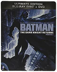 Batman : The Dark Knight Returns - Partie 1 - Combo Blu-Ray + DVD - Steelbook format Blu-Ray - Collection DC COMICS [Blu-ray] [Combo Blu-ray + DVD - Édition boîtier SteelBook]