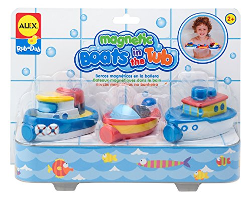 ALEX Toys Rub a Dub Magnetic Boats in the Tub (Alex Fishing In The Tub compare prices)