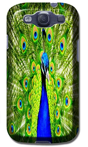 Beautiful Peacock Cell Phone Cases Design Special For Samsung Galaxy S3 I9300 No.2
