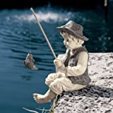 Design Toscano NG32122 Frederic, the Little Fisherman of Avignon