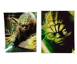 Star Wars Yoda Assorted Portfolio Folders (2 Pack)