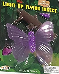 Spin and Fly Insect (Purple Butterfly)