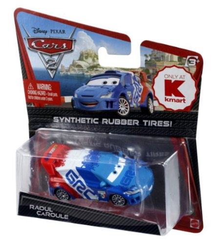 Disney / Pixar CARS 2 Movie Exclusive 155 Die Cast Car with Synthetic Rubber Tires Raoul CaRoule - 1