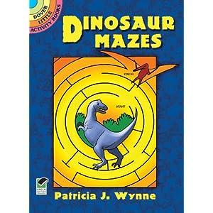 Dinosaur Mazes (Dover Little Activity Books)