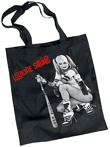 Suicide Squad Harley Quinn - Good Night Borsa di tela nero