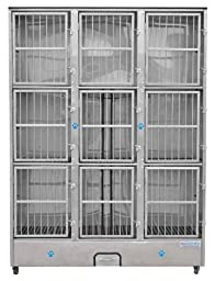 Groomer\'s Best 9-Unit Cage Bank