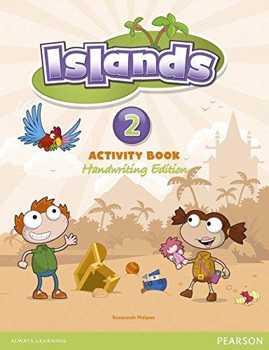 Islands handwriting Level 2 Activity Book plus pin code