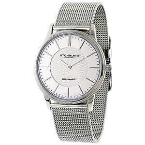 Stuhrling Original Men's 238.32112 Classic 'Newberry' Super Slim Quartz Watch
