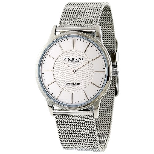 Stuhrling Original Men's Classic 'Newberry' Super Slim Quartz Watch - 238.32112