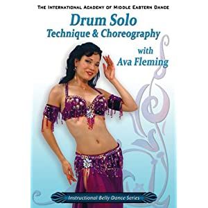 Drum Solo Technique & Choreography with Ava Fleming - Belly Dance DVD