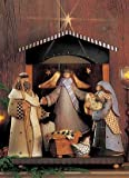 O' Holy Night - Set of 3 - Joseph, Manger, Mary - Christmas Nativity WW 2494