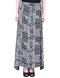 Oxolloxo Women floral long skirt