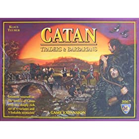 Settlers of Catan Barbarians and Traders!