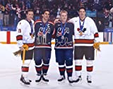 Autographed Steve Yzerman, Brett Hull, Brendan Shanahan, Chris Chelios Four Olympians 16x20 Photo Limited Edition