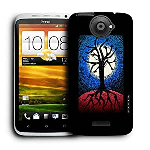Snoogg Tree With Hands And Legs Designer Protective Back Case Cover For HTC ONE X