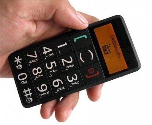 Seniorenhandy - Mobiltelefon altersgerecht für Senioren / alte Leute SIM frei, entsperrt für alle Netze, Handy ohne Vertrag, mit Taschenlampe & SOS Taste von Visionaer
