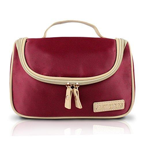 jacki-design-essential-travel-cosmetic-bag-w-hanger-red-by-jacki-design