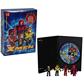 Marvel Minimates X-Men Darktide with DVD Box Set