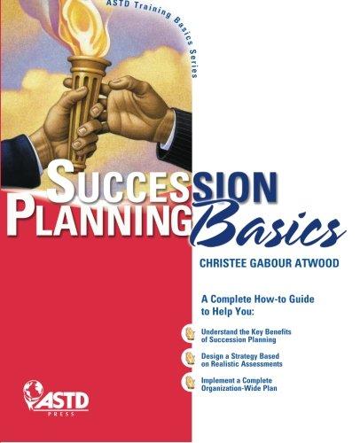 Succession Planning Basics (Trainer Basics Series)