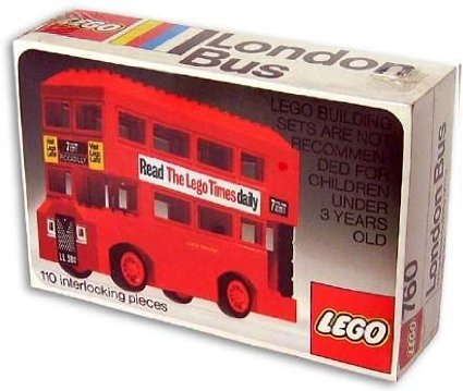 LEGO ( LEGO ) 760 London Bus block toys ( parallel imports )