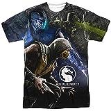 Mortal Kombat X Three Of A Kind Mens Sublimation Shirt XL White
