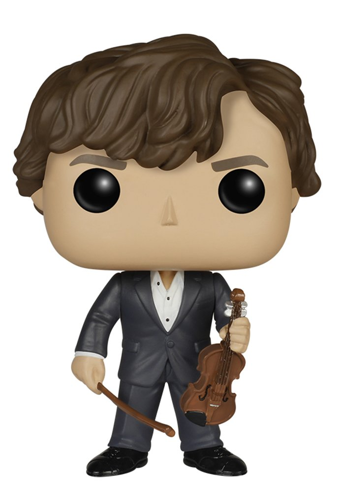 Sherlock - Sherlock Holmes with Violin Action Figure