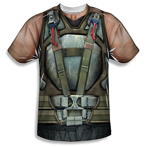 Dark Knight Rises Bane Costume Kids All Over Print T-Shirt