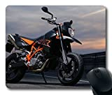 NEW Custom Fascinating Mouse Pad with Ktm 950 Supermoto R Ktm 950 Sm Motorcycle Non Slip Neoprene Rubber Standard Size 9 Inch 220mm  X 7 Inch 180mm  X 1 8 Inch 3mm  Desktop Mousepad Laptop Mousepads Comfortable Computer Mouse Mat