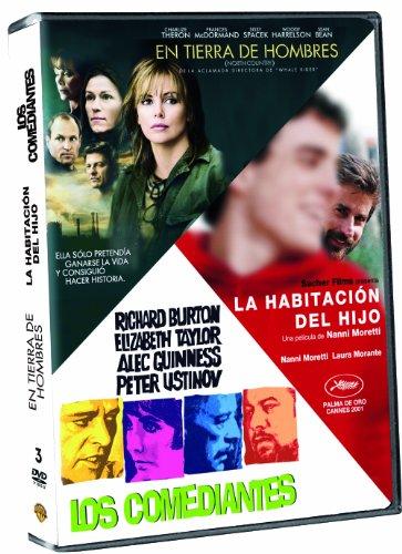 Pack: En Tierra De Hombres + La Habitación Del Hijo + Los Comediantes [DVD]