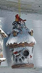 #!Cheap Joseph's Studio Nature's Story Teller Cardinal Birdhouse Christmas Ornament