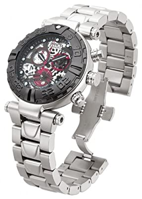 Invicta Mens Reserve Subaqua Noma I Limited Ed Swiss Made ISA Skeleton Dial Watch 15996