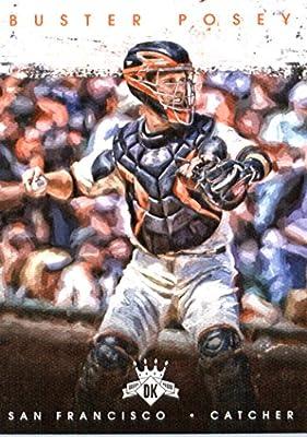 2016 Panini Diamond Kings #60 Buster Posey San Francisco Giants Baseball Card-MINT