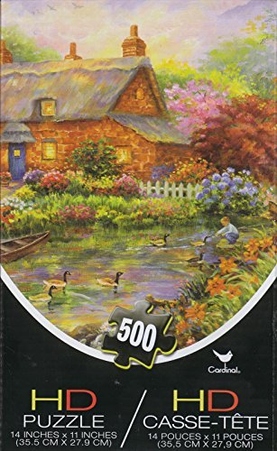 Cottage 500 Piece HD Puzzle - 1