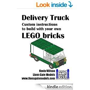 lego pizza van instructions book 2