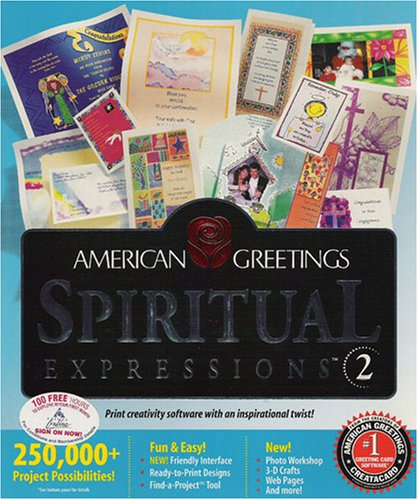 Spiritual Expressions 2 by American Greetings (Win 95/98/NT CD-ROM)