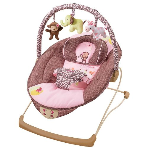 Carter's Jungle Jill Snuggle 'n Comfort Musical Bouncer