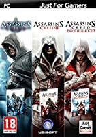 Triple pack : Assassin's Creed + Assassin's Creed II + Assassin's Creed : Brotherhood