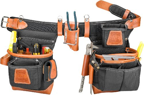 Occidental Leather 9850LH Adjust-to-Fit Fat Lip Tool Bag Set - Black - Left (Carpentry Tool Bags compare prices)