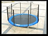 Aosom 10' Trampoline with Safety Net Enclosure Combo
