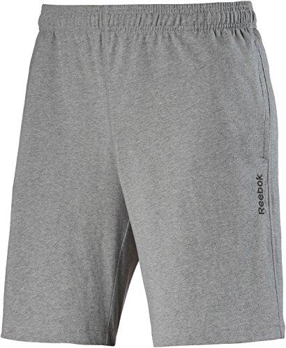 Reebok EL Jersey Short-Pantaloncini corti da uomo, UOMO, EL Jersey Short, Gris (Brgrin), L